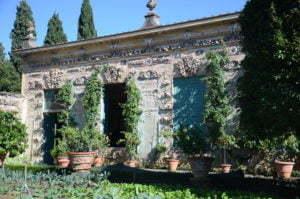Orangeriet (limonaian) i Villa La Pietra.