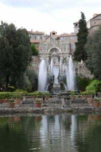 Peter Englander Villa D´este, Tivoli utanför Rom.