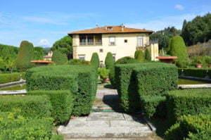 Peter Englander Villa Gamberaia utanför Florens.